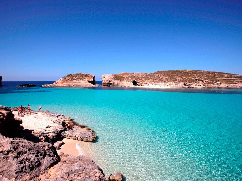 Image result for the blue lagoon Comino